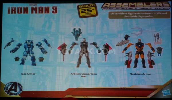 box set with TonyMARVEL hasbro sdcc2013 iron man 3
