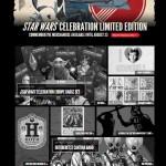 STAR WARS CELEBRATION – Breaking news : ouverture d'une boutique en ligne ! Set complet des badges