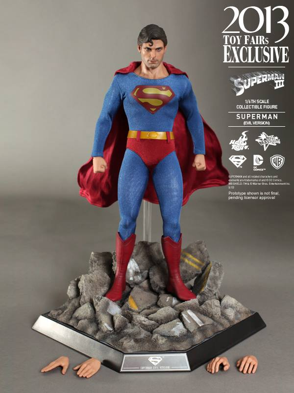 superman 3 hot toys exclu toy fairs 2013  15