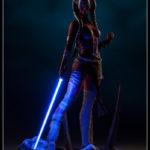 Star Wars : Nouvelles images de Shaak Ti Premium Format
