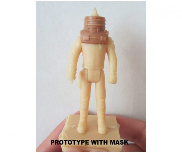 M.A.S.K. style P.U.N.K.S. action figures