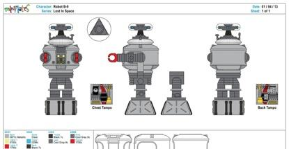 Lost In Space - Robot B-9s--415x215