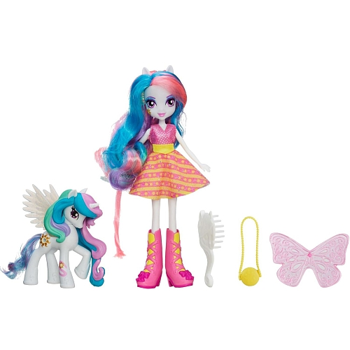 MLP Poupee Equestria Girls Princesse Celestia