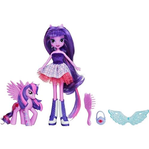 MLP Poupee Equestria Girls Princesse twilight Sparkle