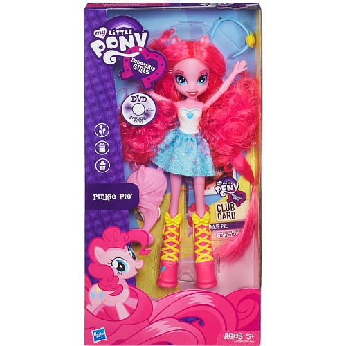 MLP Poupée Equestria Girls Pinkie Pie