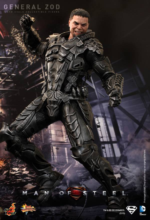 Man of Steel General Zod hot toys 3