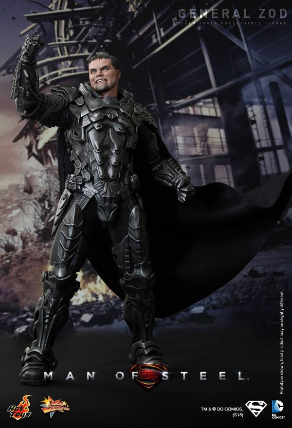Man of Steel General Zod hot toys 4