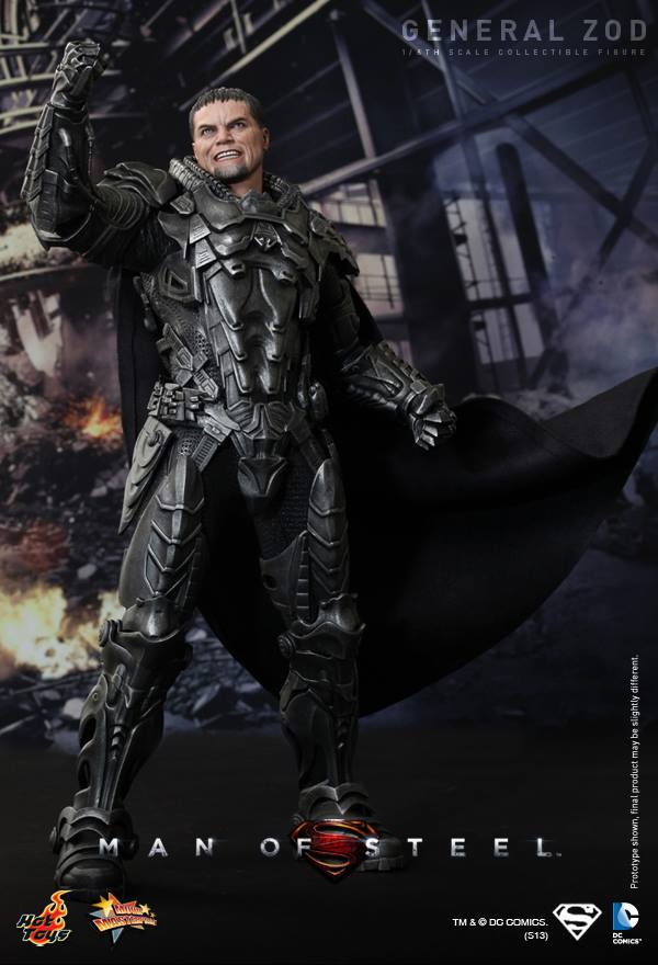 Man of Steel General Zod hot toys 5