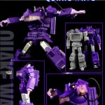 Review - Transformers - TF-03 Quakewave aka Shockwave