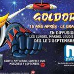 Goldorak le grand retour à la Télé à 20h30
