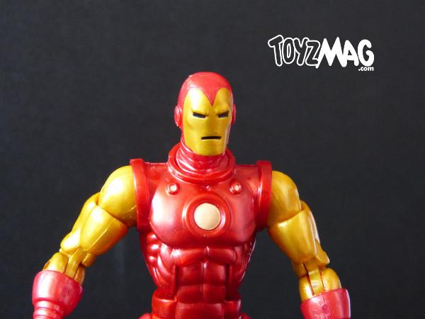 marvel legends hasbro iron man classic 2