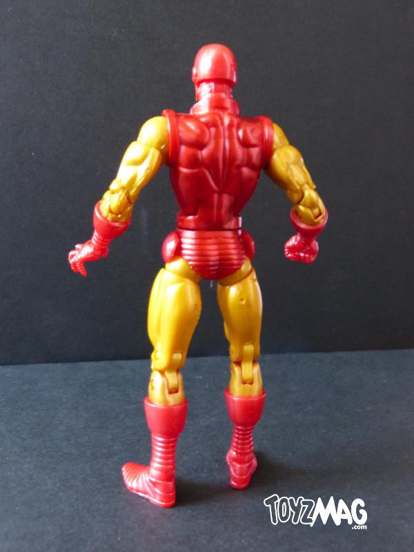 marvel legends hasbro iron man classic 3