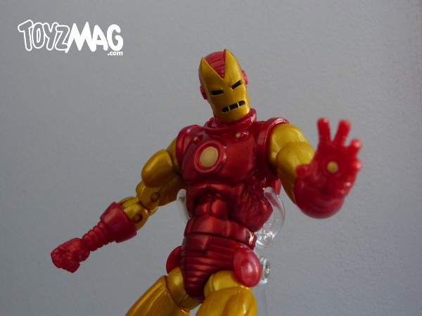 marvel legends hasbro iron man classic 7