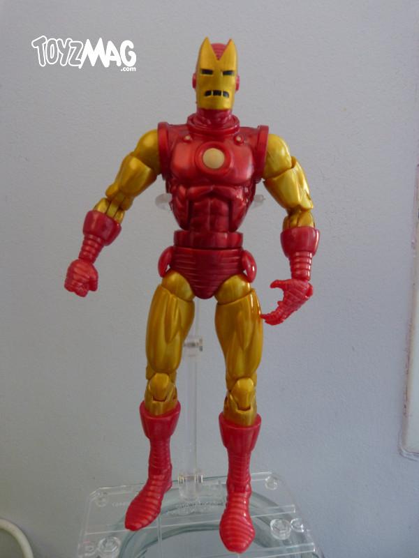 marvel legends hasbro iron man classic 9
