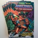 La couverture du prochain mini comic MOTUC