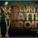 Star Wars : Sideshow tease de nouveaux Battle Droids