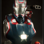 Iron Man 3 : buste Iron Patriot Sideshow en préco