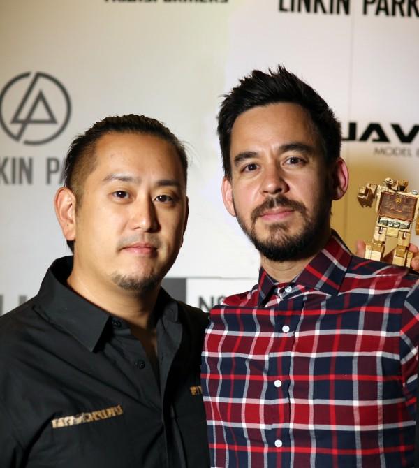 Linkin Park photo by  Parvez Satter
