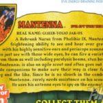 MOTUC : traduction de la bio de Mantenna
