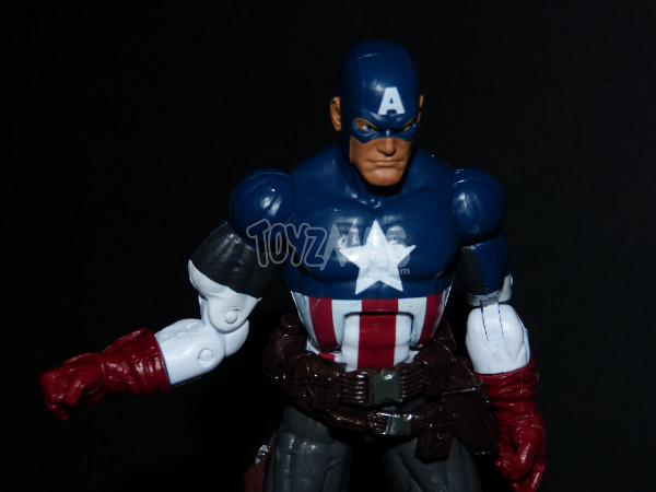 Marvel legends captain america ultimate Toyzmag 14