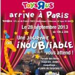 Un nouveau Toys R Us ouvre en plein Paris ce samedi 28 septembre 2013 !