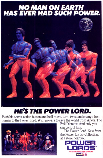 Instant Vintage: Power Lords - Ceji/Revell 1983