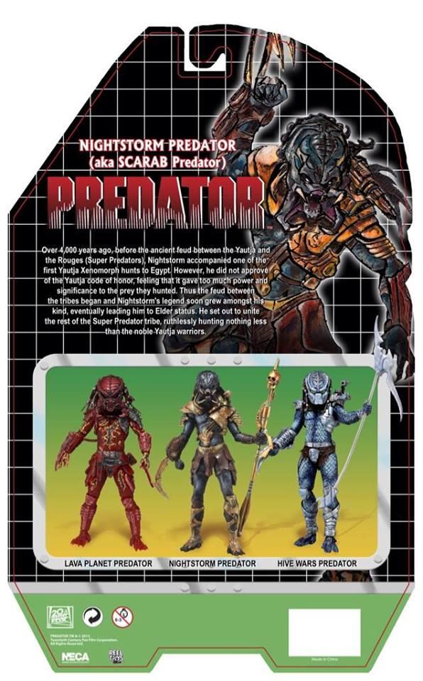 nightstorm scarab predator neca kenner serie 10