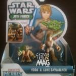 Review Playskool Heroes Yoda & Luke Skywalker…