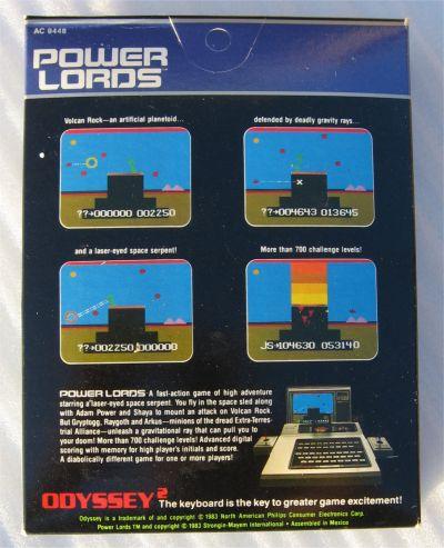 Vidéo Game Power Lords jeu vidéo