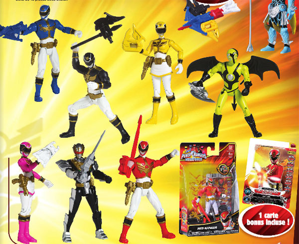 Power Rangers MegaForce 1àcm