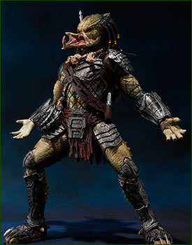sh monster arts bandai predator wolf avp 2