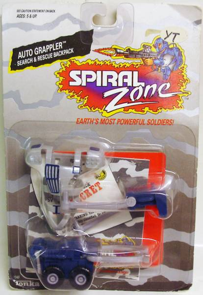 Spiral Zone Les jouets