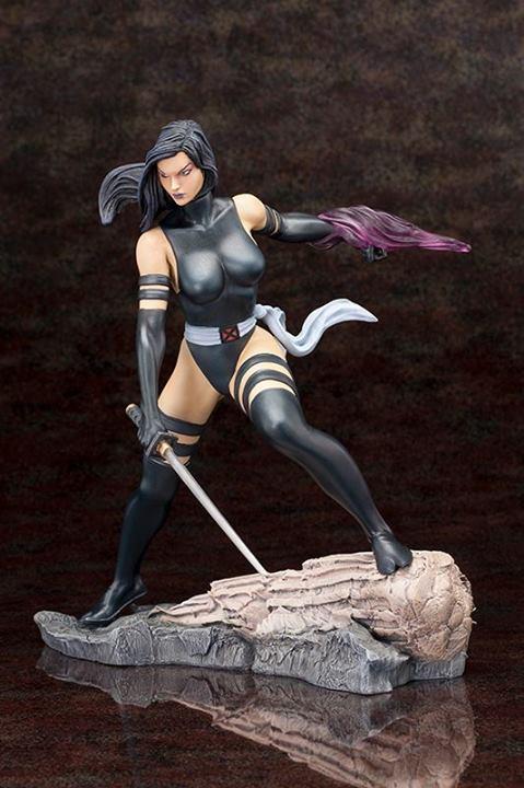 Marvel - Psylocke X-Force Fine Art Statue