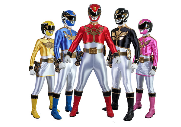 Power Rangers MegaForce dedicaces Kidexpo