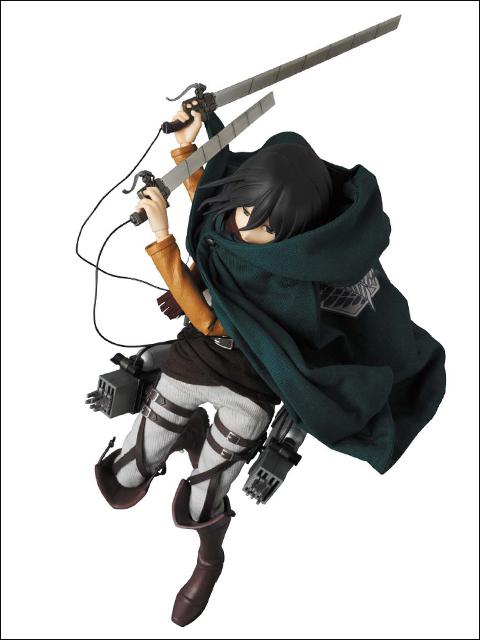 RAH Mikasa Ackerman L'attaque des titans Medicom
