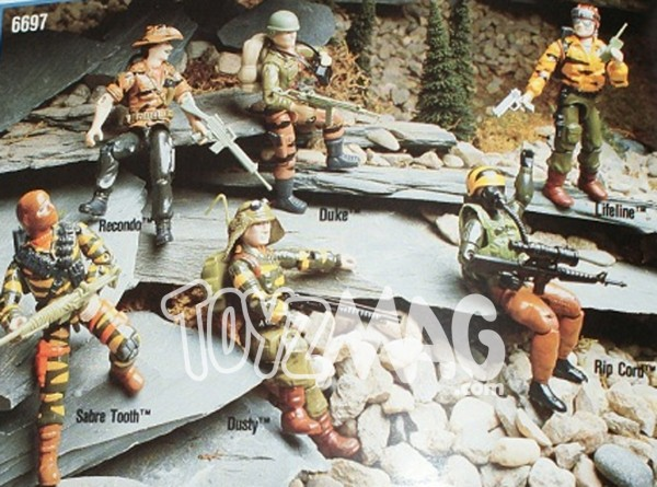 tiger force gijoe prototype ripcord