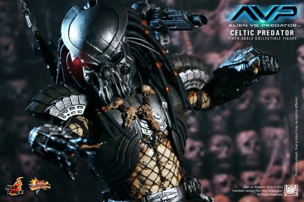 avp celtic predator hot toys toyzmag 11