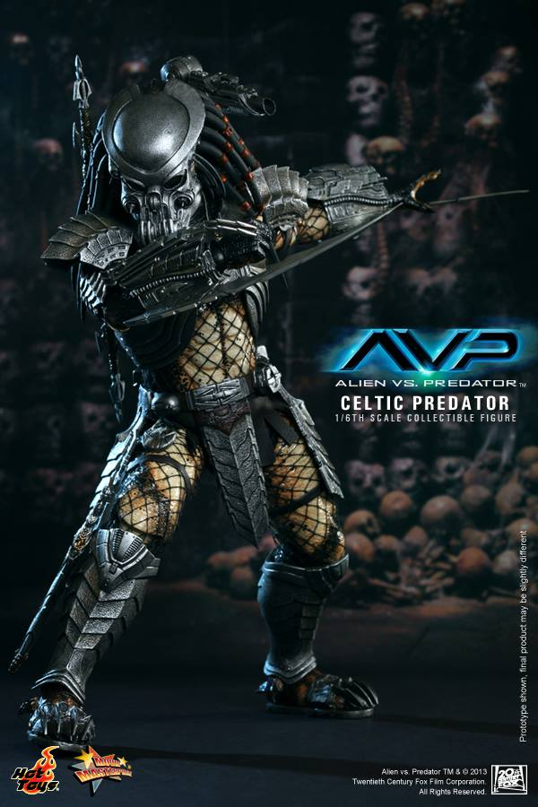 avp celtic predator hot toys toyzmag 3