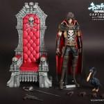 Hot Toys : Captain Harlock with Throne of Arcadia