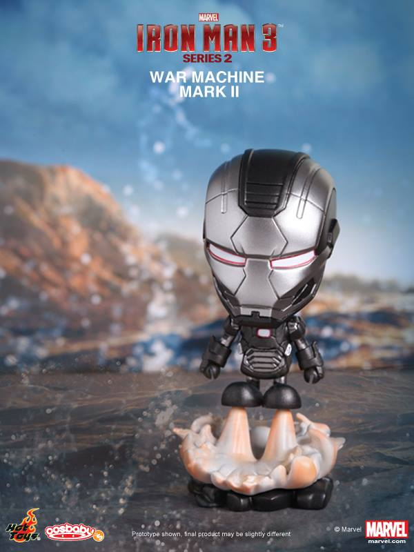 hot toys serie 2 iron man 3 cosbabies 12