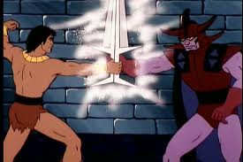 """John Blackstar contre Overlord"""