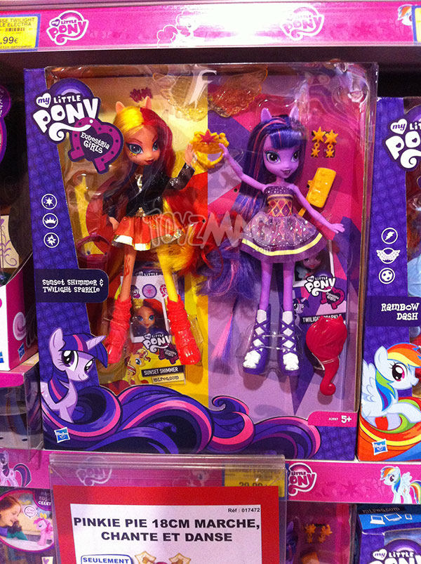 My Little Pony Equestria Girls Twilight Sparkle Sunset Shimmer