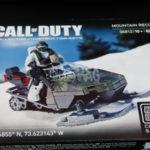 Mega Bloks Call of Duty : review du set Mountain Recon