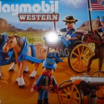 Playmobil : review western soldats US avec canon
