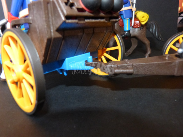 playmobil western canon soldats US cavalerie 4