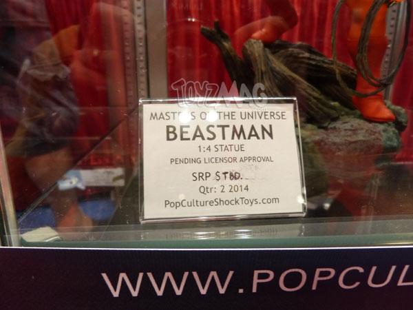 Pop Culture Shock Collectibles Beastman le monstre