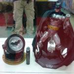 NYCC Super Alloy : Iron Man 3 et Batman