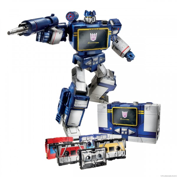 Transformers Soundwave Masterpiece