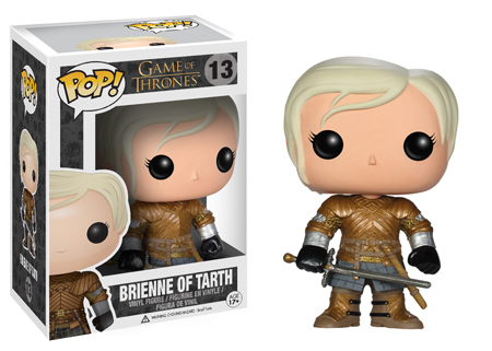GOT funko pop brienne