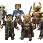 Marvel Minimates : le packaging de la série Thor